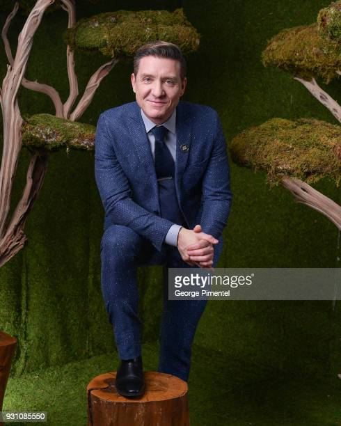 Shawn Doyle poses in the 2018 Canadian Screen Awards Broadcast Gala Portrait Studio at Sony Centre for the Performing Arts on March 11 2018 in...