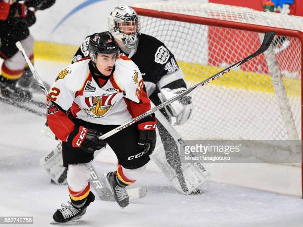 Shawn Element of the BaieComeau Drakkar skates against the BlainvilleBoisbriand Armada during the QMJHL game at Centre d'Excellence Sports Rousseau...