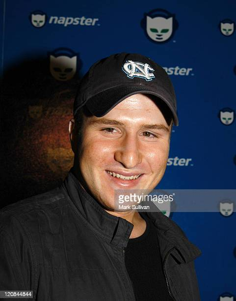 Shawn Fanning during Celebrate The Launch of Napster 20 Arrivals at House of Blues in West Hollywood California United States