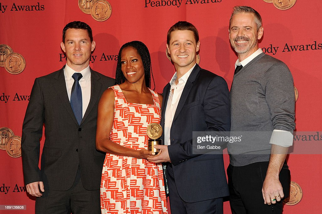 Shawn Hatosy, Regina King, Ben McKenzie and C. Thomas Howell attend 72nd Annual George Foster Peabody Awards at The Waldorf=Astoria on May 20, 2013 in New York City.