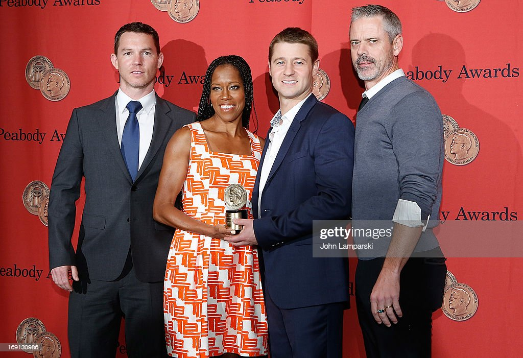 Shawn Hatosy, Regina King, Ben McKenzie and C. Thomas Howell attends 72nd Annual George Foster Peabody Awards at The Waldorf=Astoria on May 20, 2013 in New York City.