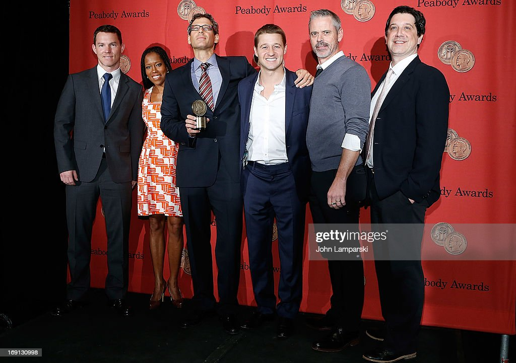 Shawn Hatosy, Regina King, Johnathan Lisco, Ben McKenzie, C. Thomas Howell and John Wells attend 72nd Annual George Foster Peabody Awards at The Waldorf=Astoria on May 20, 2013 in New York City.