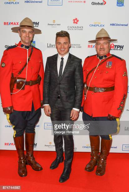 Shawn Hook attends 2017 Canada's Walk of Fame at The Liberty Grand on November 15 2017 in Toronto Canada