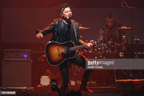 Shawn Hook performs for the 2018 iHeartRadio FanFest during 2018 Canadian Music Week on May 11 2018 in Toronto Canada