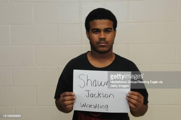 Shawn Jackson2013 READING HIGH Wrestling WRESWinter Scholastic HeadshotsPhoto by Harold Hoch