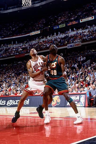 1996 NBA Finals Game 1:  Seattle SuperSonics vs. Chicago Bulls