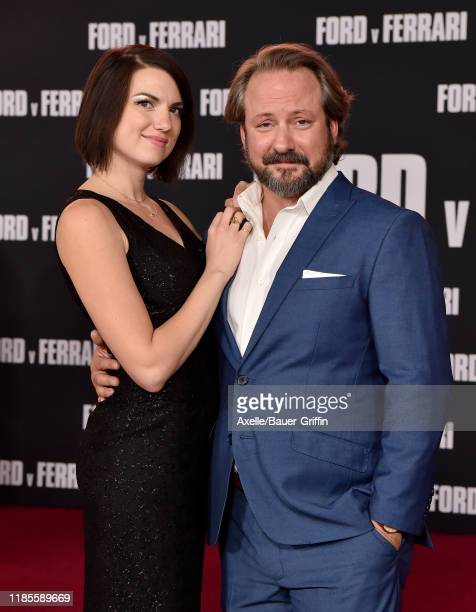Shawn Law and guest attend the Premiere of FOX's Ford v Ferrari at TCL Chinese Theatre on November 04 2019 in Hollywood California