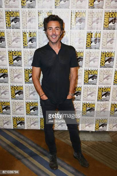 Shawn Levy arrives at the Stranger Things press line at ComicCon International 2017 on July 22 2017 in San Diego California