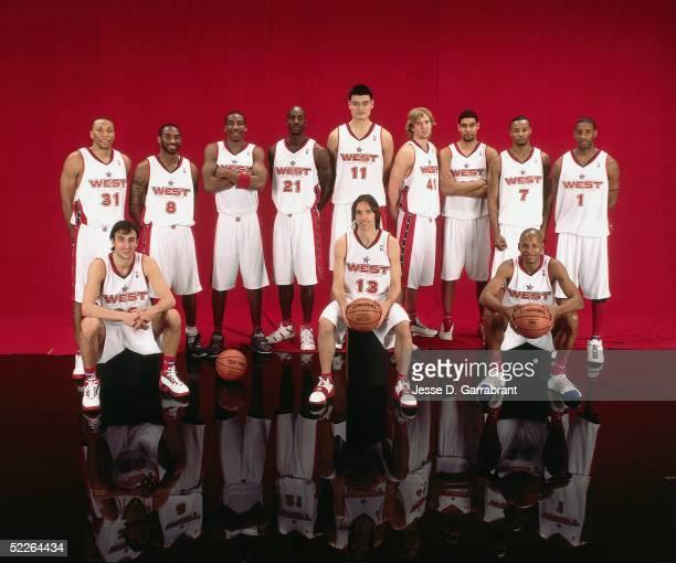 Shawn Marion Emanuel 'Manu' Ginobili Kobe Bryant Amare Stoudemire Kevin Garnett Yao Ming Steve Nash Dirk Nowitzki Tim Duncan Rashard Lewis Ray Allen...