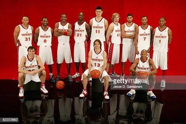Shawn Marion Manu Ginobili Kobe Bryant Amare Stoudemire Kevin Garnett Yao Ming Steve Nash Dirk Nowitzki Tim Duncan Rashard Lewis Ray Allen and Tracy...
