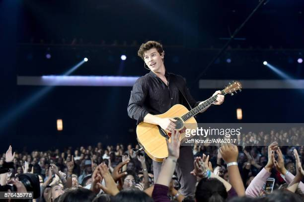 Shawn Mednes onstage during the 2017 American Music Awards at Microsoft Theater on November 19 2017 in Los Angeles California