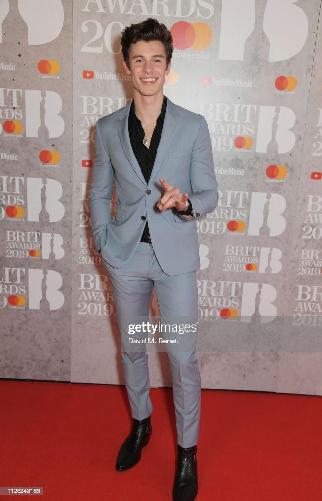 The BRIT Awards 2019 - VIP Arrivals : News Photo