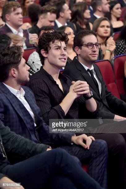 Shawn Mendes at the 2017 American Music Awards at Microsoft Theater on November 19 2017 in Los Angeles California