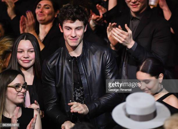 Shawn Mendes at the 2017 Juno Awards at The Canadian Tire Centre on April 2 2017 in Ottawa Canada