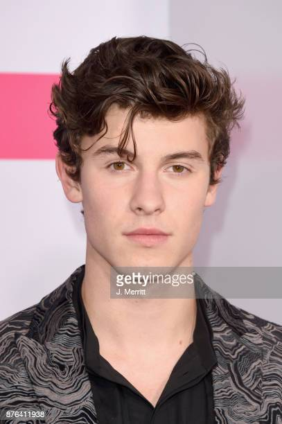 Shawn Mendes attends 2017 American Music Awards at Microsoft Theater on November 19 2017 in Los Angeles California