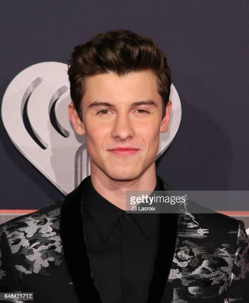 Shawn Mendes attends the 2017 iHeartRadio Music Awards at The Forum on March 5 2017 in Inglewood California