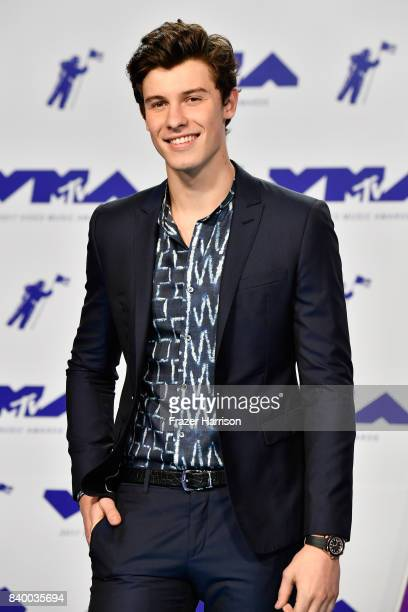 Shawn Mendes attends the 2017 MTV Video Music Awards at The Forum on August 27, 2017 in Inglewood, California.
