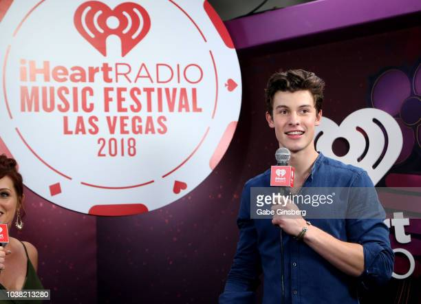Shawn Mendes attends the 2018 iHeartRadio Music Festival at TMobile Arena on September 22 2018 in Las Vegas Nevada