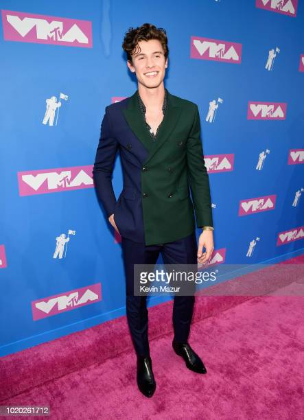 Shawn Mendes attends the 2018 MTV Video Music Awards at Radio City Music Hall on August 20 2018 in New York City