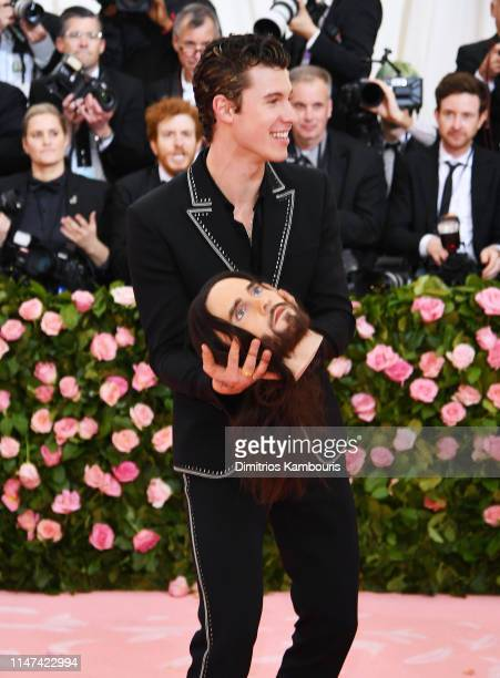 Shawn Mendes attends The 2019 Met Gala Celebrating Camp Notes on Fashion at Metropolitan Museum of Art on May 06 2019 in New York City