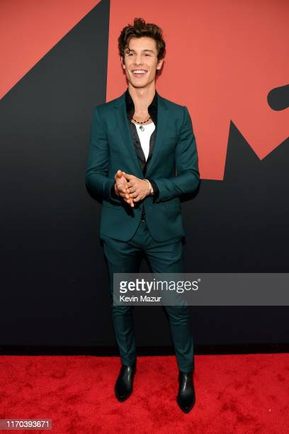 Shawn Mendes attends the 2019 MTV Video Music Awards at Prudential Center on August 26 2019 in Newark New Jersey