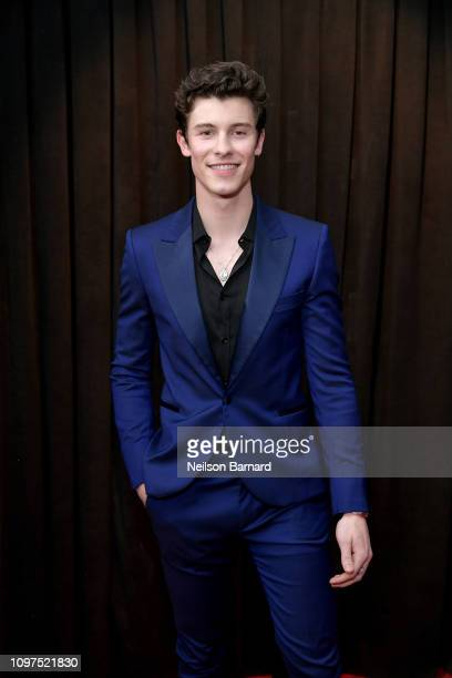 Shawn Mendes attends the 61st Annual GRAMMY Awards at Staples Center on February 10, 2019 in Los Angeles, California.