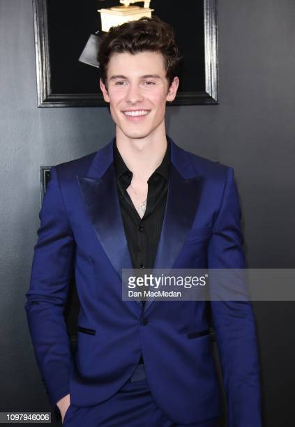 Shawn Mendes attends the 61st Annual GRAMMY Awards at Staples Center on February 10 2019 in Los Angeles California