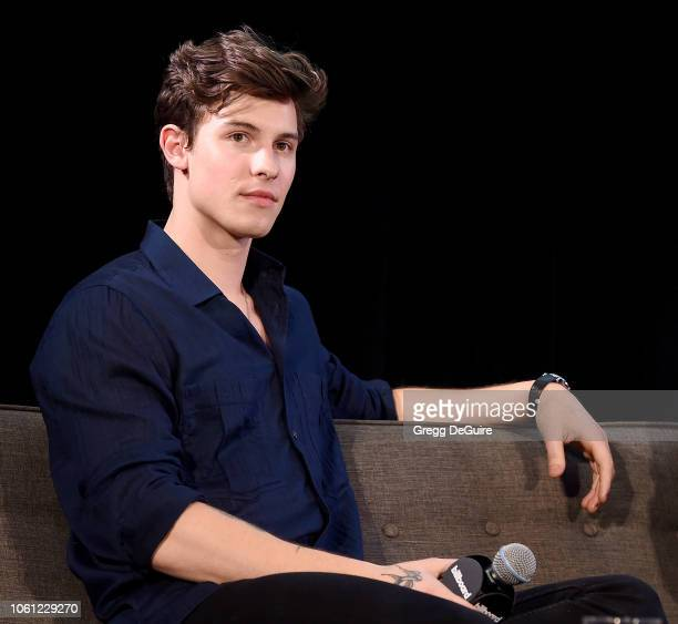 Shawn Mendes attends the Billboard's 2018 Live Music Summit Panels at Montage Beverly Hills on November 13, 2018 in Beverly Hills, California.