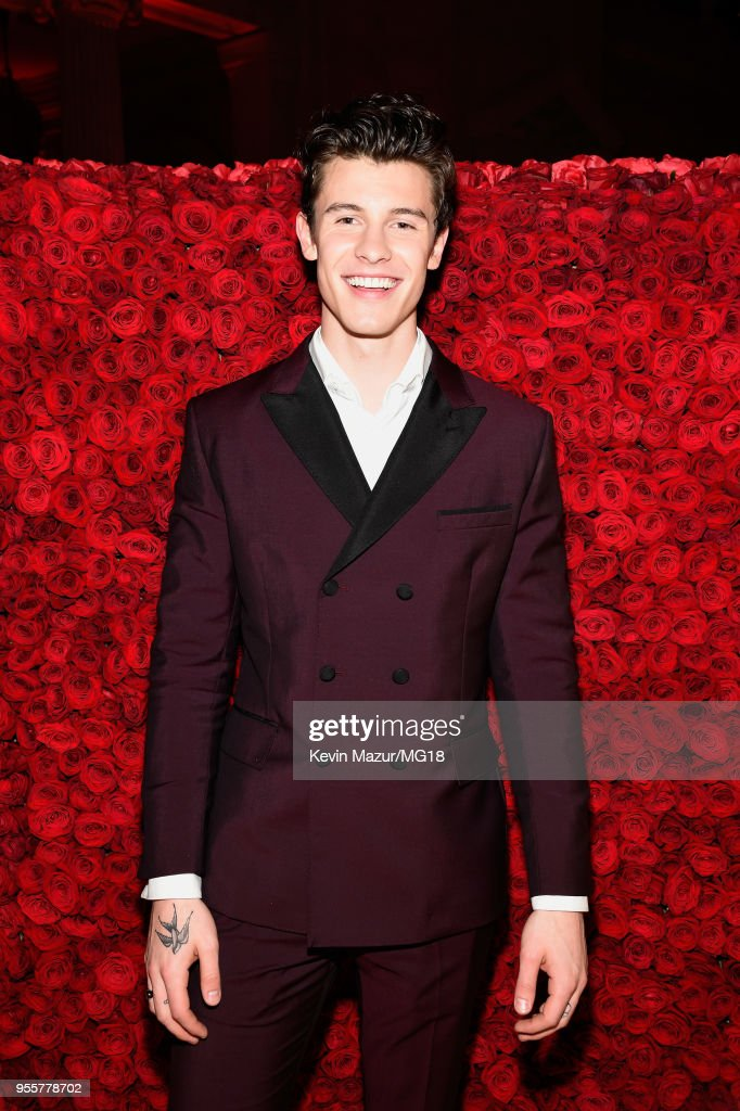 Shawn Mendes attends the Heavenly Bodies: Fashion & The Catholic Imagination Costume Institute Gala at The Metropolitan Museum of Art on May 7, 2018 in New York City.