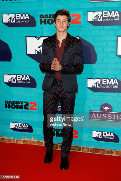 Shawn Mendes attends the MTV EMAs 2017 held at The SSE Arena Wembley on November 12 2017 in London England