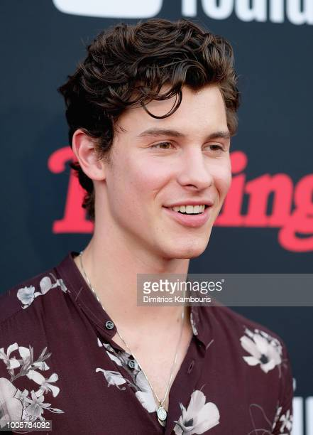 Shawn Mendes attends The Rolling Stone Relaunch on July 26 2018 in New York City