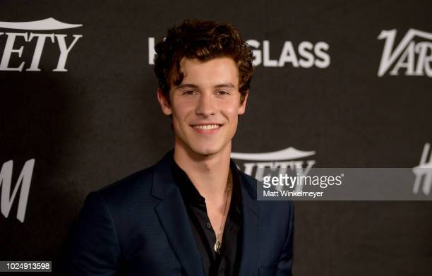 Shawn Mendes attends Variety's annual Power of Young Hollywood at Sunset Tower Hotel on August 28 2018 in West Hollywood California