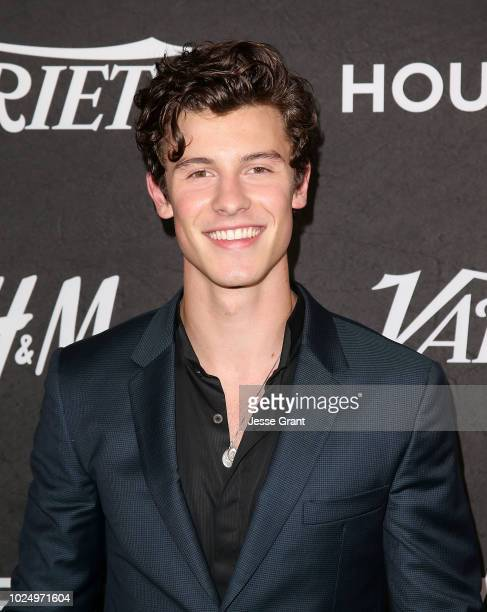 Shawn Mendes attends Variety's Power of Young Hollywood event at the Sunset Tower Hotel on August 28 2018 in West Hollywood California