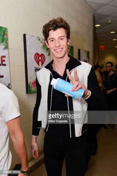 Shawn Mendes attends Z100's Jingle Ball 2018 at Madison Square Garden on December 7 2018 in New York City