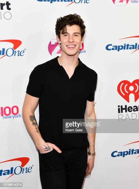 Shawn Mendes attends Z100's Jingle Ball 2018 at Madison Square Garden on December 07, 2018 in New York City.