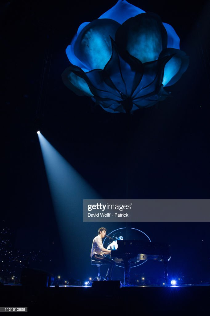 FRA: Shawn Mendes Performs At Accorhotels Arena In Paris