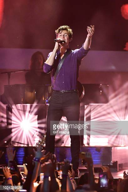 Shawn Mendes performs at the 2018 iHeartRADIO MuchMusic Video Awards at MuchMusic HQ on August 26 2018 in Toronto Canada