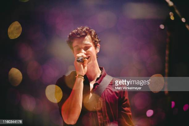 Shawn Mendes performs in concert Los Angeles, at Staples Center on July 05, 2019 in Los Angeles, California.