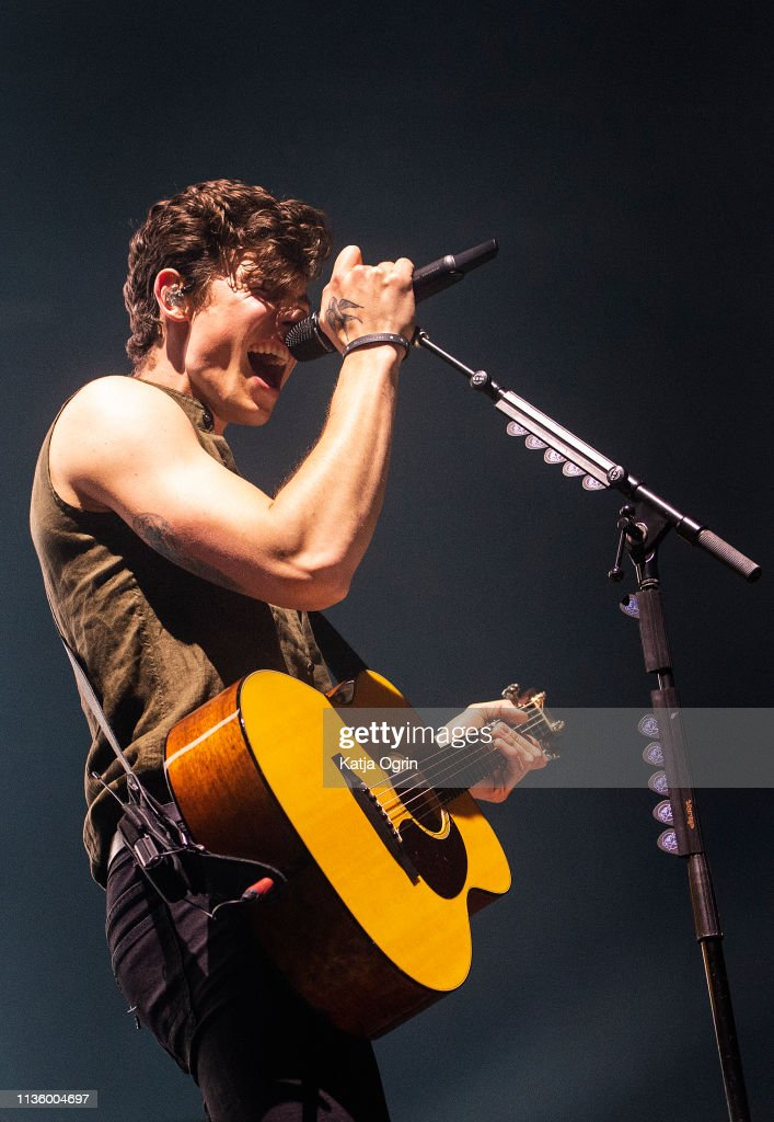 GBR: Shawn Mendes Performs At Arena Birmingham
