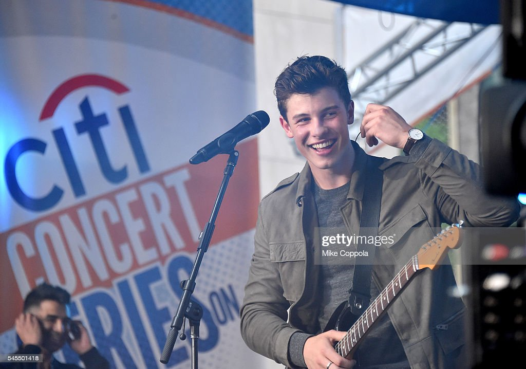 Shawn Mendes Performs on the Citi Concert Series on TODAY