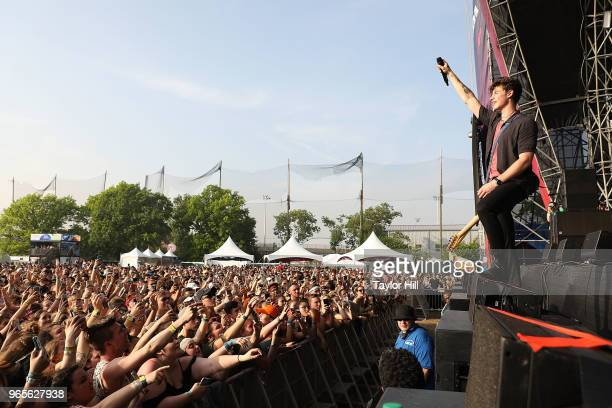 Shawn Mendes performs onstage during Day 1 of 2018 Governors Ball Music Festival at Randall's Island on June 1 2018 in New York City