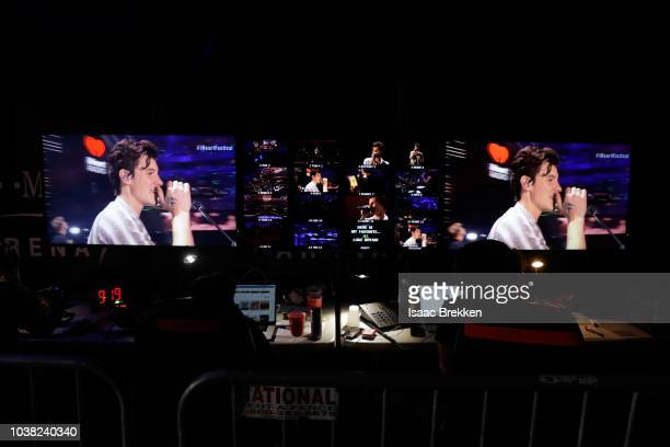 Shawn Mendes performs onstage during the 2018 iHeartRadio Music Festival at TMobile Arena on September 22 2018 in Las Vegas Nevada Photo by Denise...