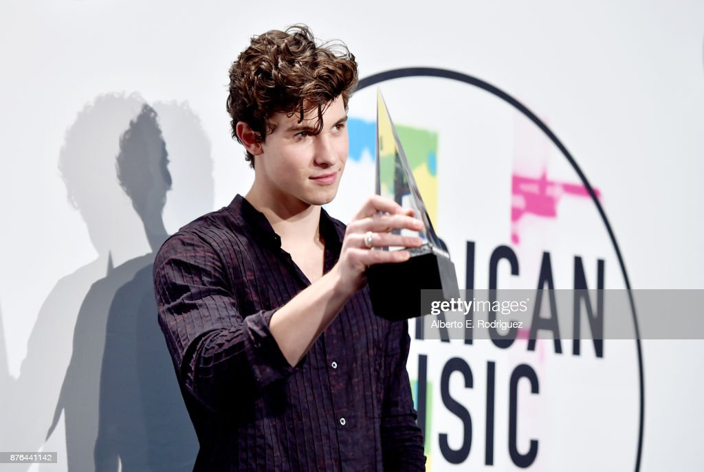 2017 American Music Awards - Press Room : News Photo