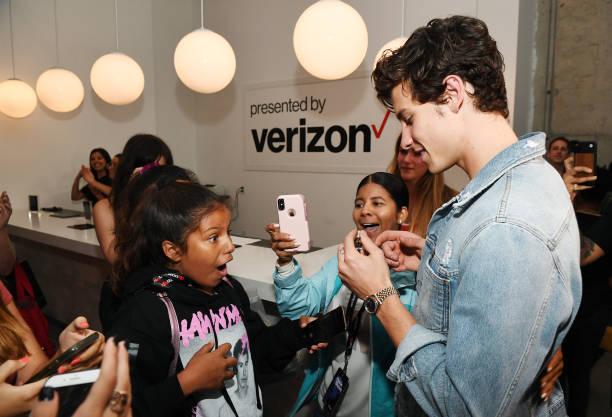 NY: Verizon Shawn Mendez Event