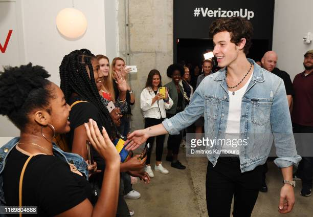 Shawn Mendes surprises fans at This Is Shawn presented by Verizon on August 23 2019 in New York City