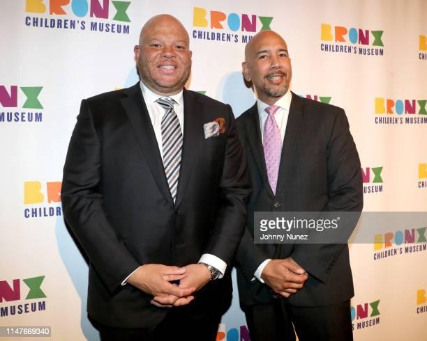 Shawn Pecas Costner and Bronx Borough President Ruben Diaz Jr attend the Bronx Children's Museum Third Annual Gala and Benefit Honoring Rita Moreno...
