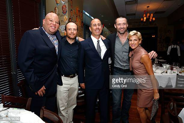 Shawn Pecas Costner Ralph Jackman Jerry Seinfeld Hugh Jackman and Jessica Seinfeld attend Jerry Seinfeld hosts lunch to support the Baby Buggy...