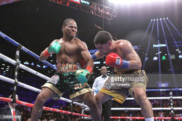 Shawn Porter defeats Danny Garcia by unanimous decision in their WBC Welterweight Title fight at Barclays Center on September 8 2018 in New York City