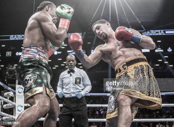 Shawn Porter defeats Danny Garcia by Unanimous Decision in their WBC Welterweight Title fight at Barclays Center on September 8, 2018 in Brooklyn.