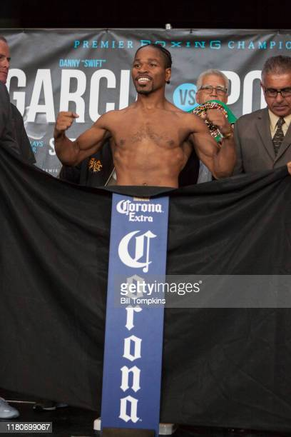 Shawn Porter during the weigh In at Barclays Center on September 7, 2018 in Brooklyn.